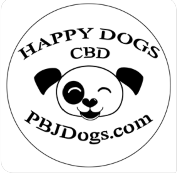 Happy Dogs CBD Logo pbjdogs.com